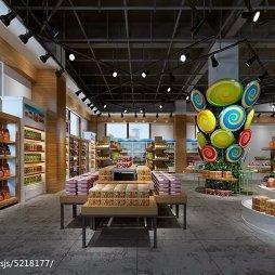 工装进口食品超市设计