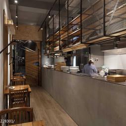 复古西餐厅装修效果图