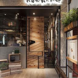 复古西餐厅店面设计