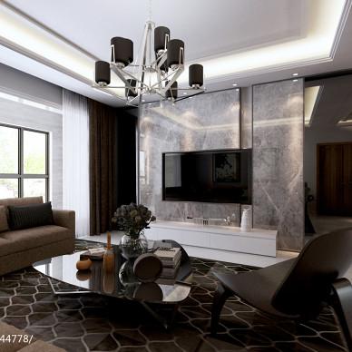客厅背景墙瓷砖装修设计