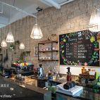 咖啡厅背景墙设计效果图