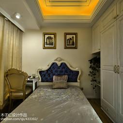 欧式风格卧室衣柜设计图片