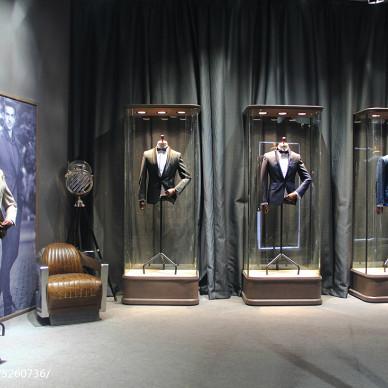杉杉男装CHIC 2017中国国际服饰服装博览会展馆设计效果图片欣赏