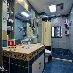 田园风格浴室装修效果图片汇总