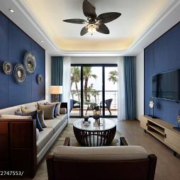混搭公寓客厅装修效果图