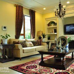 别墅美式风格客厅设计
