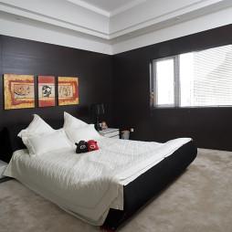 现代新中式卧室设计