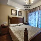 简约美式卧室吊顶设计