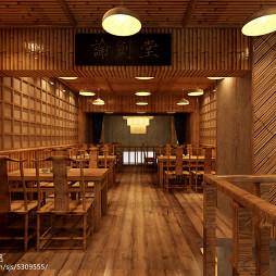 乡村风格餐厅设计_2081579