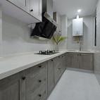 简约美式厨房装修设计效果图