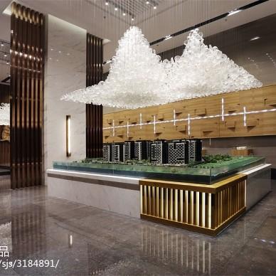 幸福时光售楼处 线性设计的视野延伸_2090790