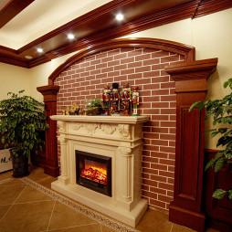 美式壁炉别墅设计