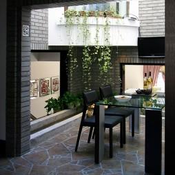 现代风格别墅餐厅设计