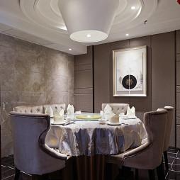 现代风格中餐厅包房设计