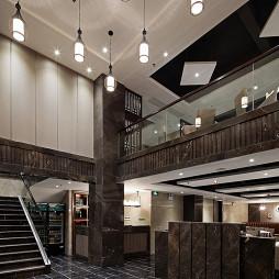 现代风格中餐厅大厅设计