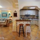 混搭风格厨房吧台装修设计