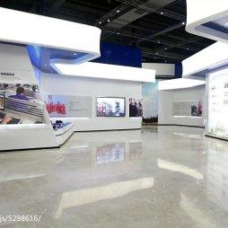 科瑞集团企业展厅设计效果图片