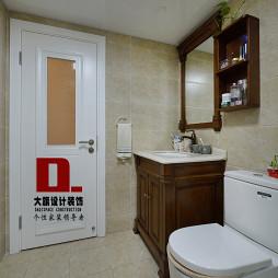 美式卫浴浴柜效果图