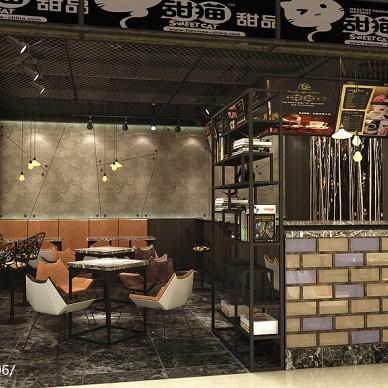 工业风甜品店_2112893