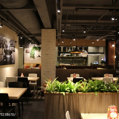 中餐厅吊顶装修设计效果图大全