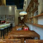 现代时尚LOFT咖啡厅设计