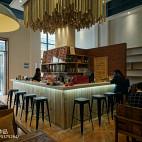 现代时尚LOFT咖啡厅设计效果图欣赏