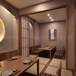日式餐厅包间设计