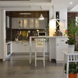 简约现代开放厨房设计
