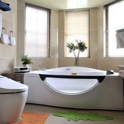 现代主卧卫生间设计