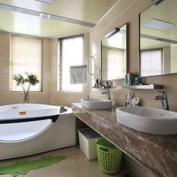 现代主卧卫生间装修设计