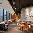 火锅餐饮店设计效果图欣赏