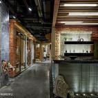 火锅餐饮店走廊设计