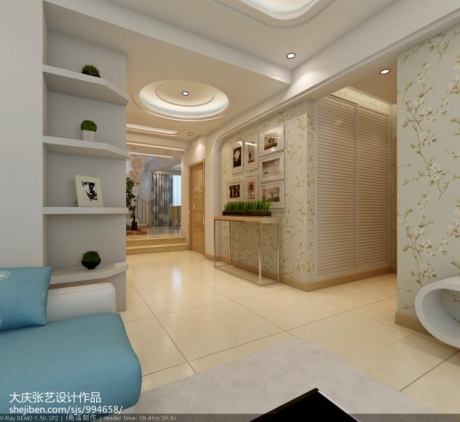 大庆花蔓溪谷现代风格_2123231
