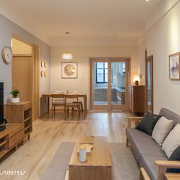 简约中式客厅设计效果图