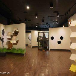 养蜂人家蜂采馆展览空间设计效果图集