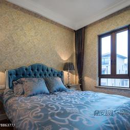 别墅新古典卧室壁纸装修效果图大全