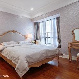 135平方温暖雅致美式卧室设计