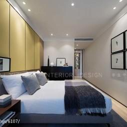 现代风格卧室样板间图片