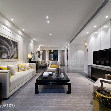 现代风格客厅壁画装饰效果图片