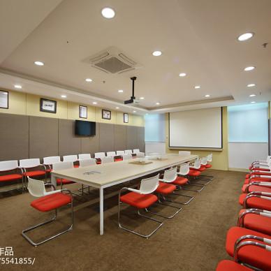 精深源科技会议室设计效果图