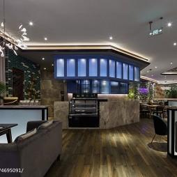 休闲餐厅柜台装修设计