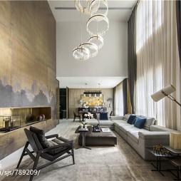 别墅中式客厅装修设计