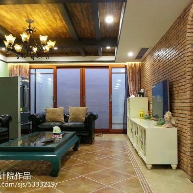 别墅客厅吊顶装修效果图大全2017图片