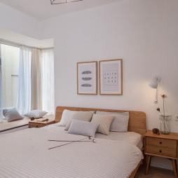 三居室MUJI风格卧室装修效果图大全