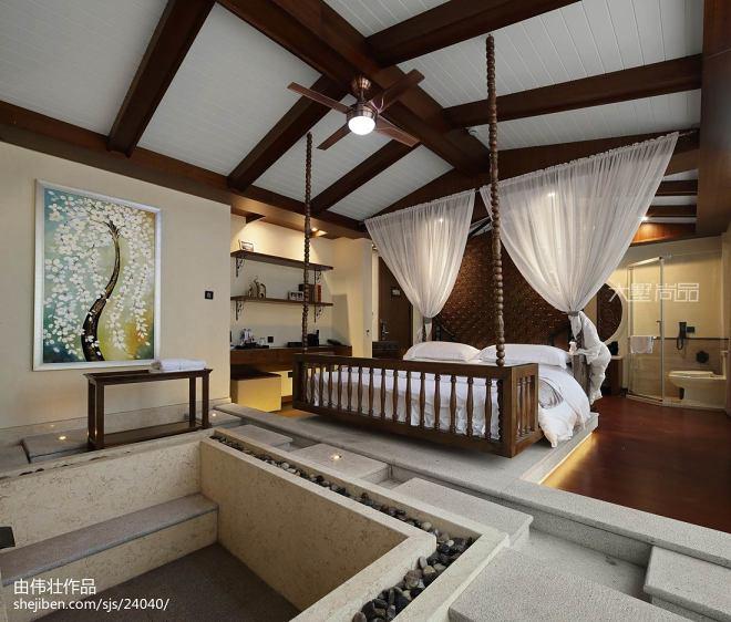 4500㎡轻奢美式创意酒店设计实景图