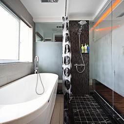 复式现代卫浴设计