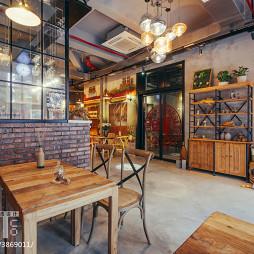 时尚复古咖啡厅设计图片