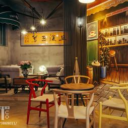 时尚复古咖啡厅设计图片欣赏