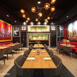 上海DV西餐厅设计