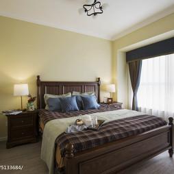 三居室混搭卧室窗帘装修效果图汇总